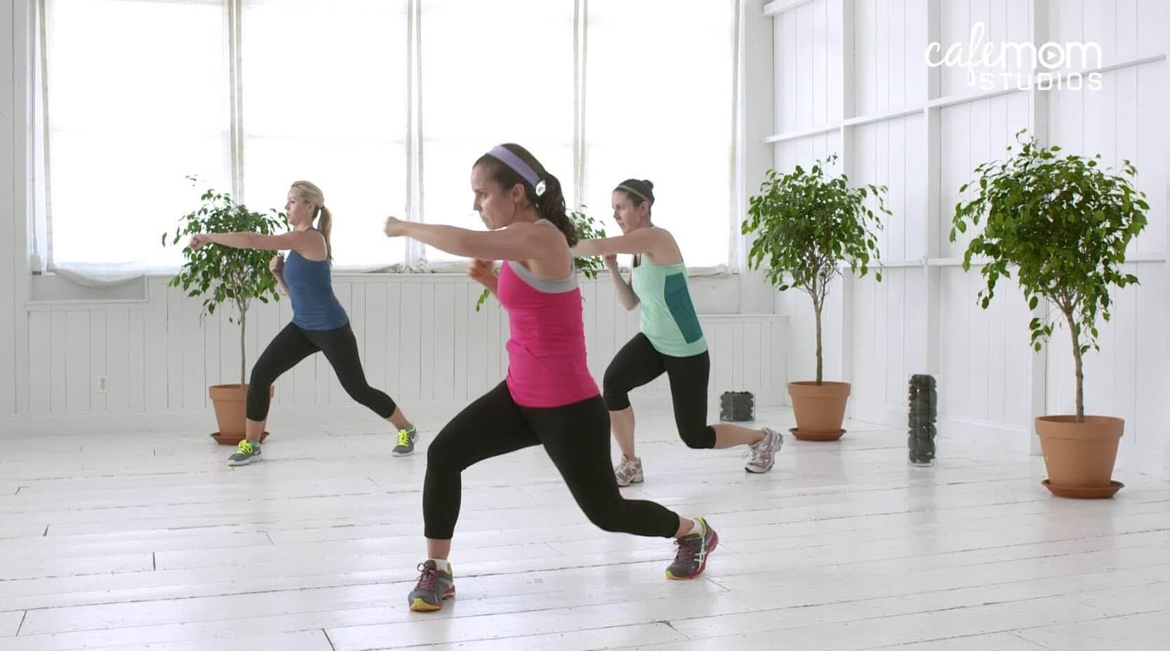 Vrouw-doet-cardio-training