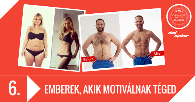6. RÉSZ: Emberek, akik motiválnak téged