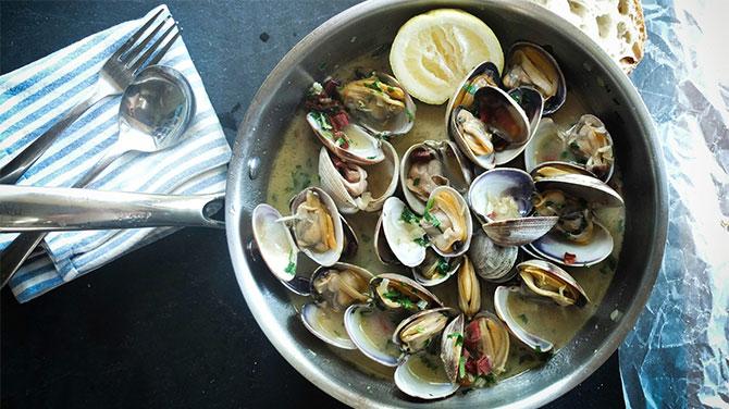 Abalone kagyló kalória