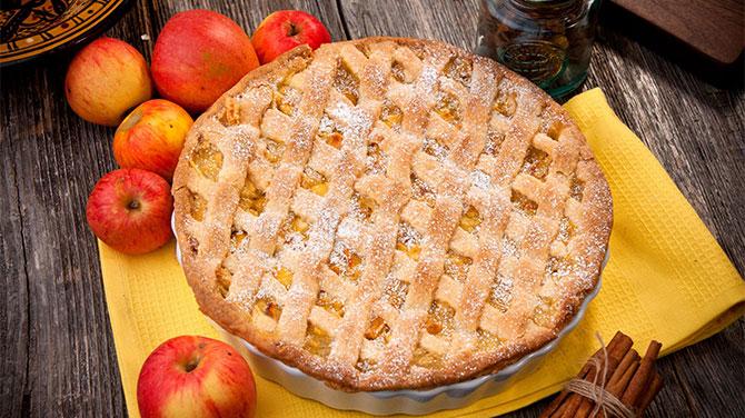 Almás pite kalória