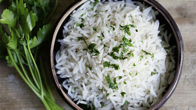 Basmati rizs kalória