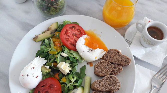 Buggyantott tojás kalória