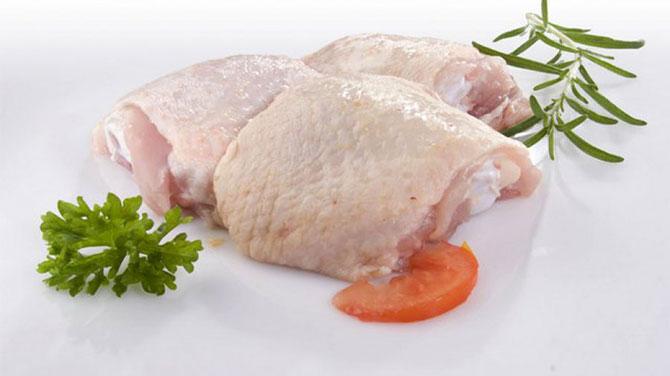 Csirke felsőcomb kalória