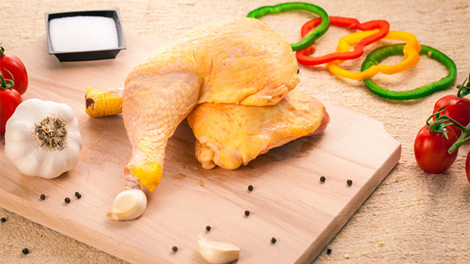 Csirkecomb kalória