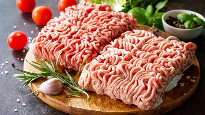 Darált hús kalória