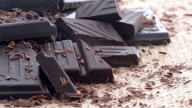 Étcsokoládé kalória
