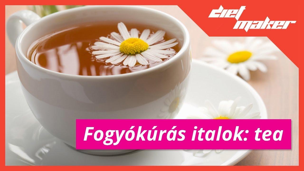 Fogyókúrás italok: tea