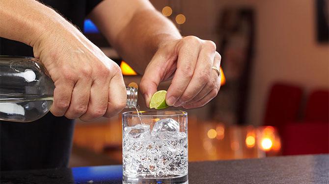 Gin kalória