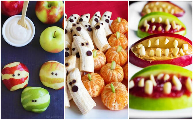 Halloweeni különleges ételek