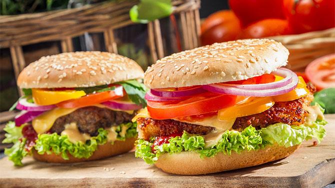 Hamburger kalória