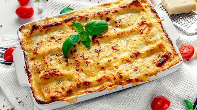 Lasagne kalória – Lehet fogyni  lasagnéval?