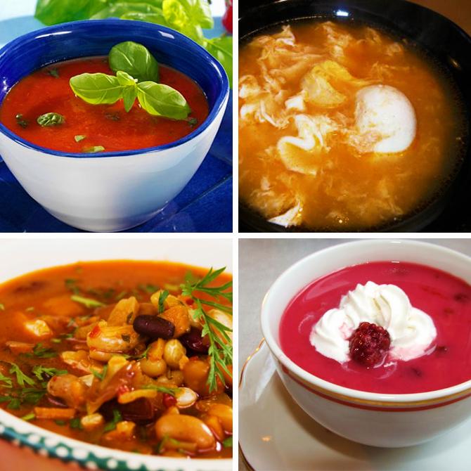 fogyókúrás levesek
