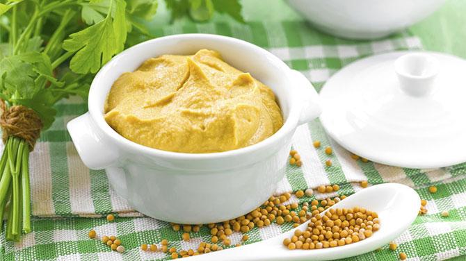 Mustár kalória