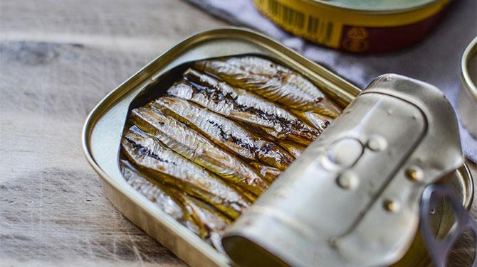 Olajos hal kalória