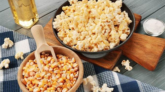 Pattogatott kukorica kalória