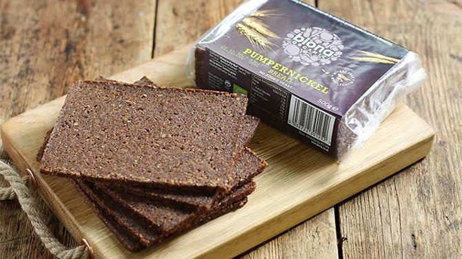 Pumpernickel kenyér kalória