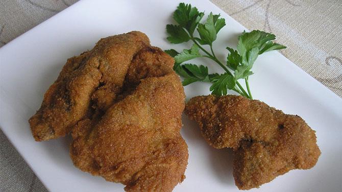Rántott csirkemáj kalória