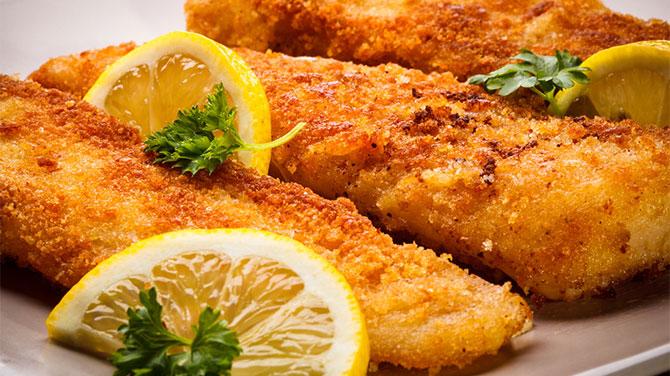 Rántott hal kalória