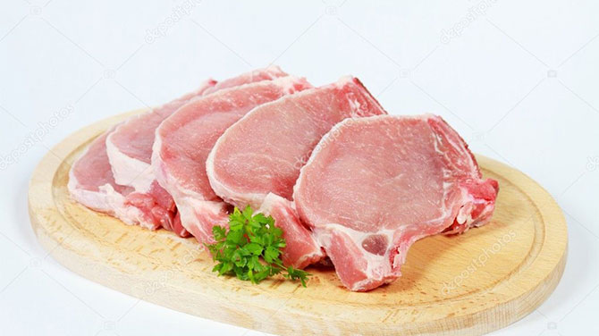 Sertéskaraj  kalória