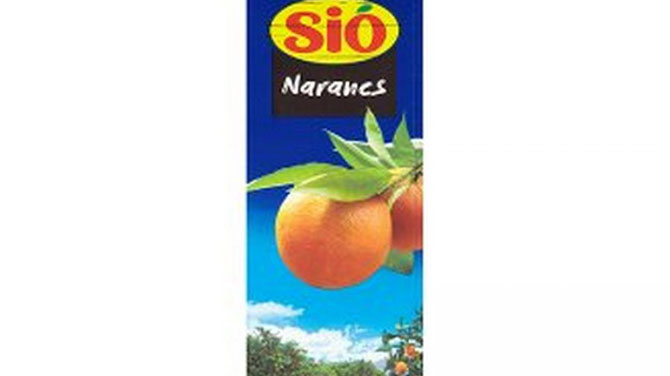 Sió narancsital kalória