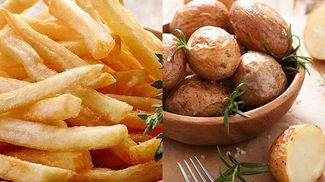 Sült krumpli kalória mennyisége