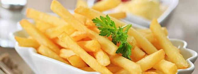 Hizlaló strandételek: Sült krumpli