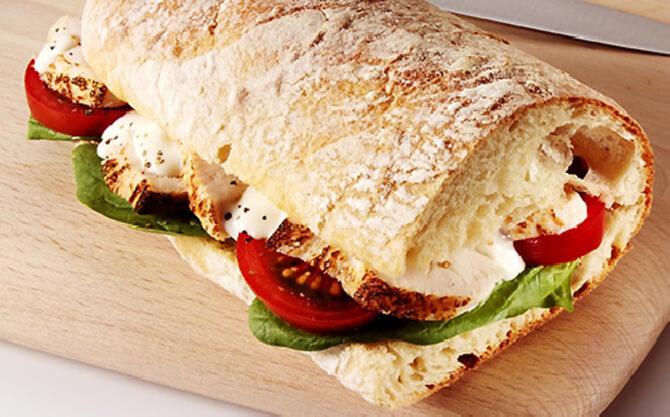 szendvics diéta