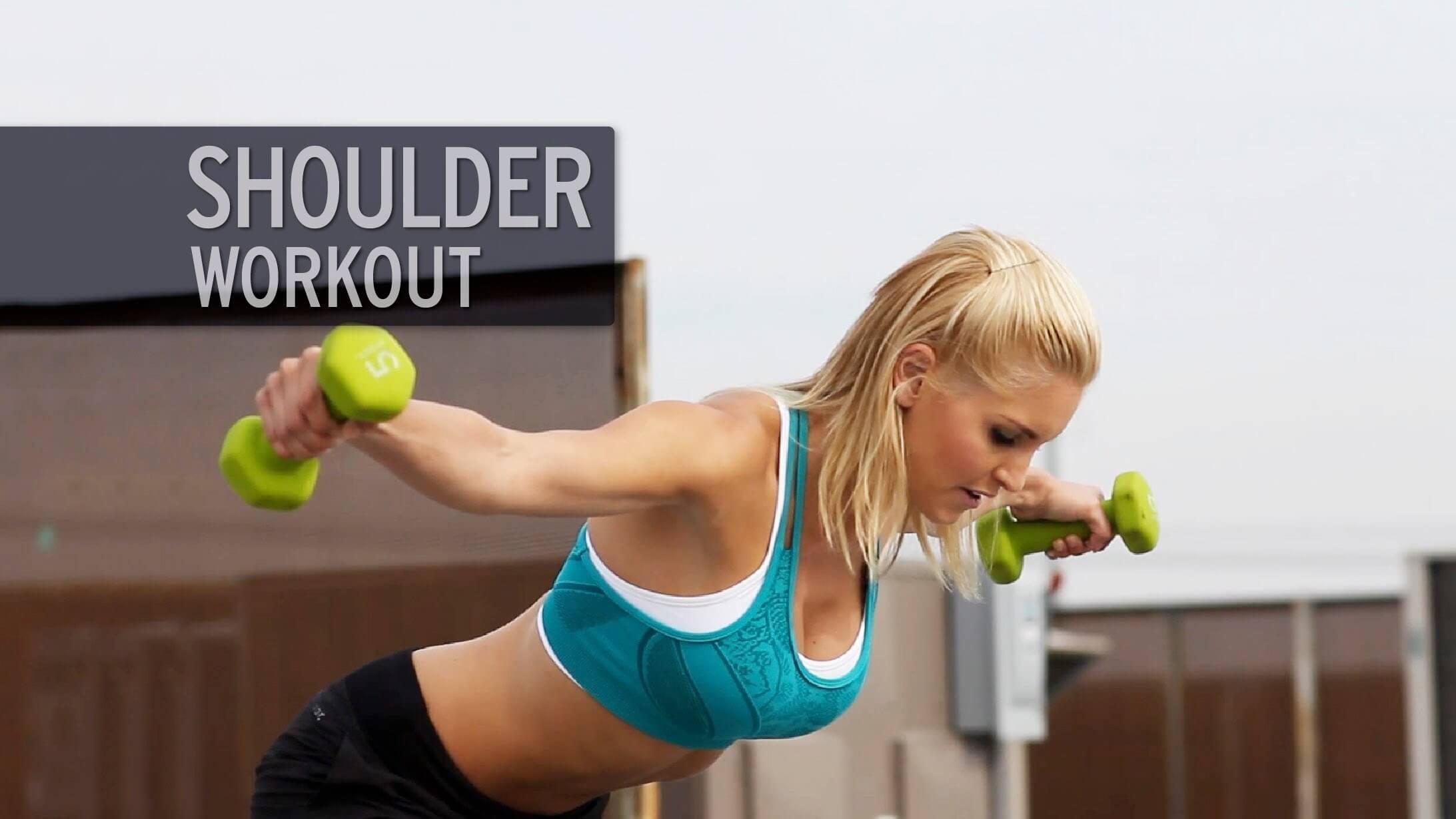 Szexi Váll edzés nőknek