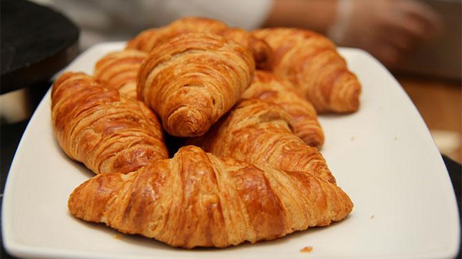 Vajas croissant kalória